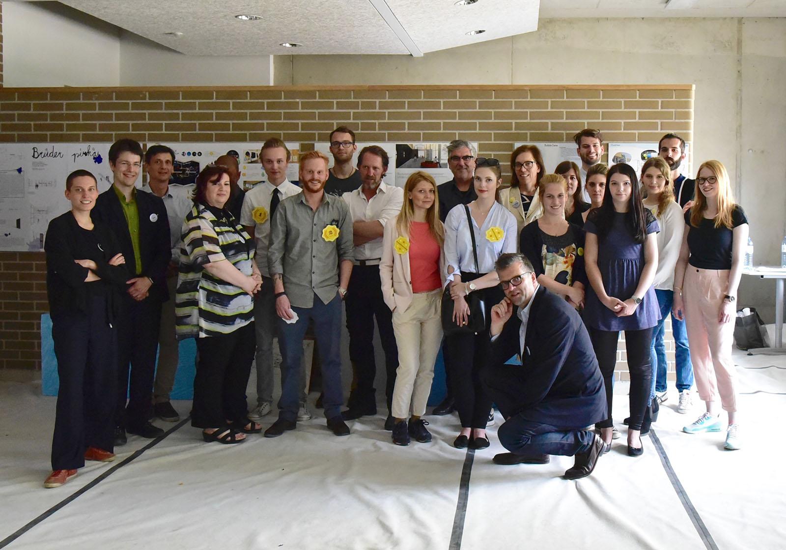 Wettbewerbspr sentation pirquet schule raum und information for Design schule wien