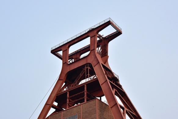 Zeche Zollverein, Förderturm Schacht 12, Fritz Schupp und Martin Kremmer, 1930