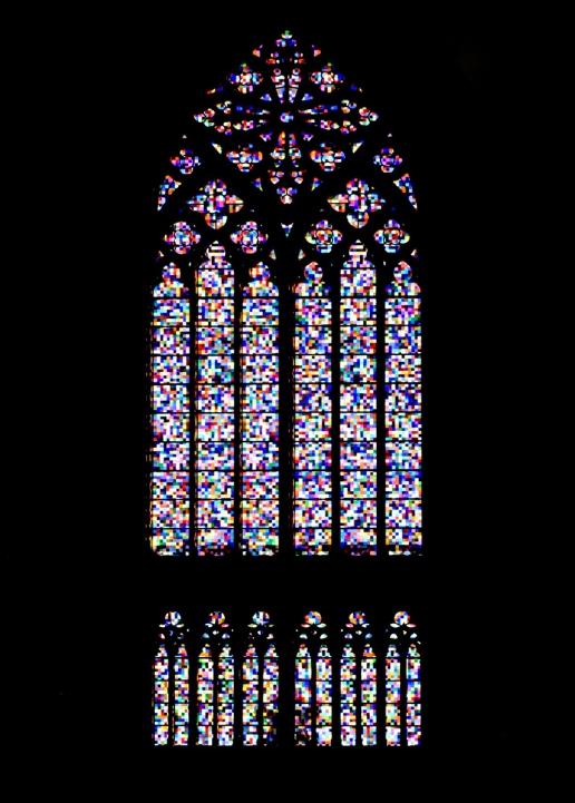 Kölner Dom, Südfenster von Gerhard Richter, 2007