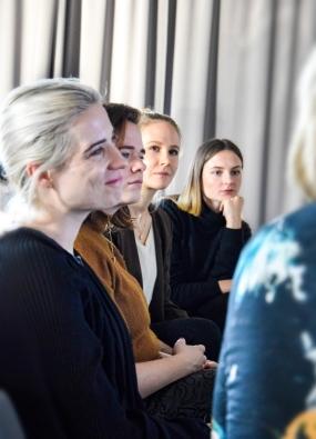 vlnr: Teresa Tramontaner, Lisa Fassl, Nina Haidinger, Laura Karasinski